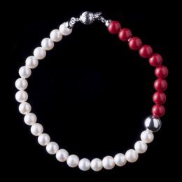 Bracciale Perle e Corallo